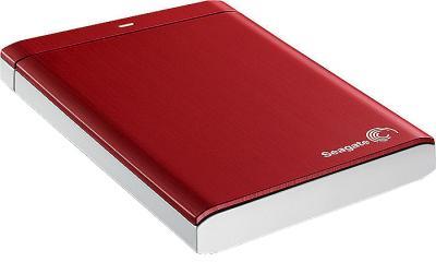 Внешний жесткий диск Seagate Backup Plus Portable Red 500GB (STBU500203) - общий вид