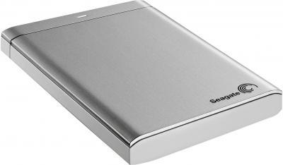 Внешний жесткий диск Seagate Backup Plus Portable Silver 500GB (STBU500201) - общий вид