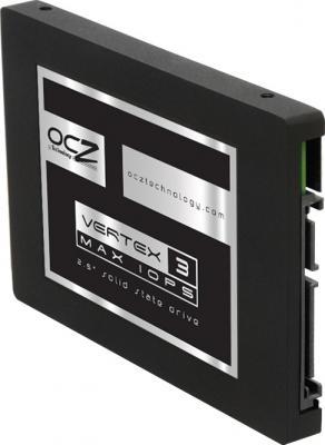 SSD диск OCZ Vertex 3 240GB (VTX3-25SAT3-240G) - вид полубоком