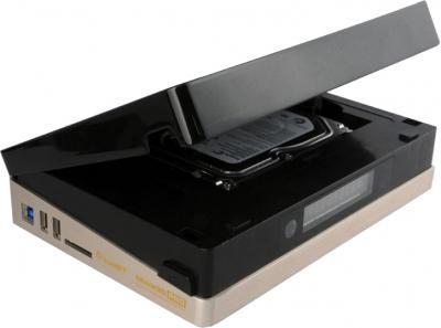 Медиаплеер IconBIT Movie3D Pro Deluxe - слот для жесткого диска