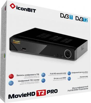 Медиаплеер IconBIT MovieHD T2 Pro - в коробке