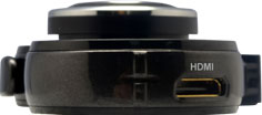 Автомобильный видеорегистратор Ritmix AVR-735 - вид сбоку