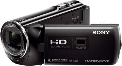 Видеокамера Sony HDR-PJ220E (Black) - общий вид