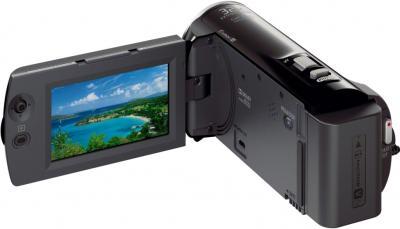 Видеокамера Sony HDR-PJ220E (Black) - дисплей