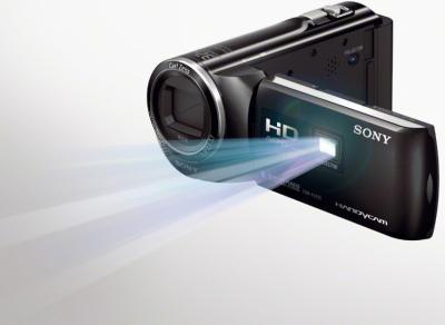 Видеокамера Sony HDR-PJ220E (Black) - проектор