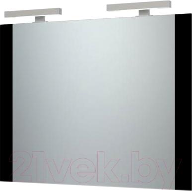 Зеркало для ванной Triton Ника 100 (черный)