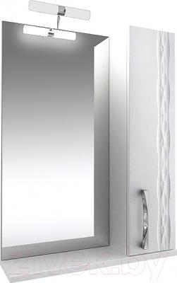 Шкаф с зеркалом для ванной Triton Кристи 80 (правый)