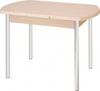 Обеденный стол Древпром М2 100х67 (металлик/дуб сонома) -