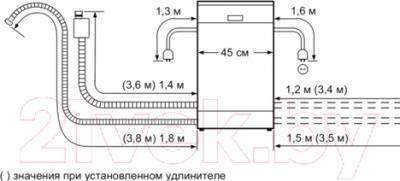 Посудомоечная машина Bosch SPS68M62RU - схема