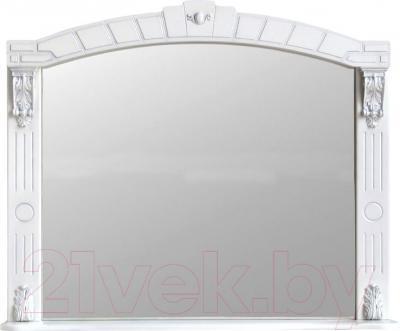 Зеркало для ванной Atoll Александрия 100 (серебро)