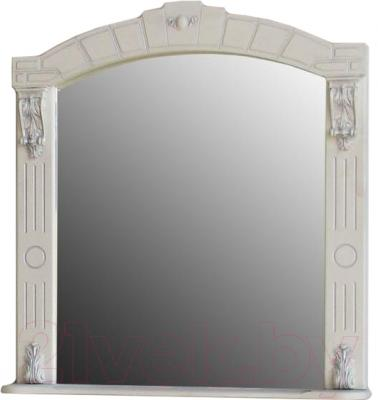 Зеркало для ванной Atoll Александрия 85 (серебро)