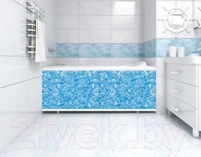 Экран для ванны МетаКам Кварт 1.48 (топаз)