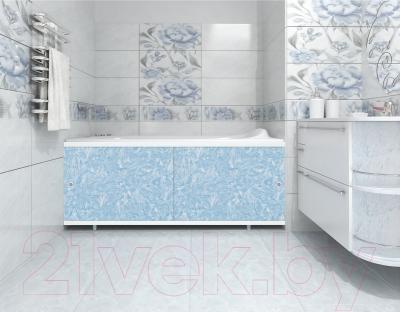 Экран для ванны МетаКам Кварт 1.48 (голубой иней)