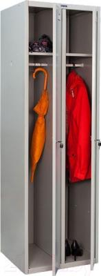 Шкаф металлический Практик LS(LE)-21