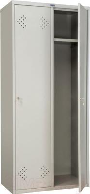 Шкаф металлический Практик LS(LE)-21-80