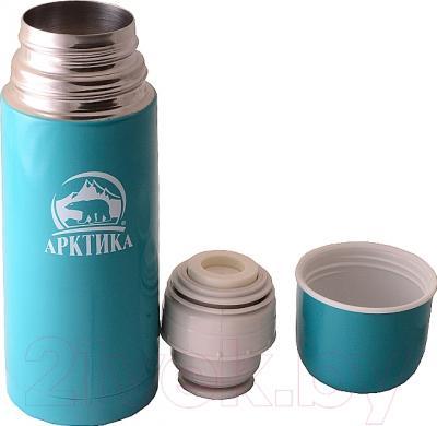 Термос для напитков Арктика 102-350 (тиффани) - крышка-чашка