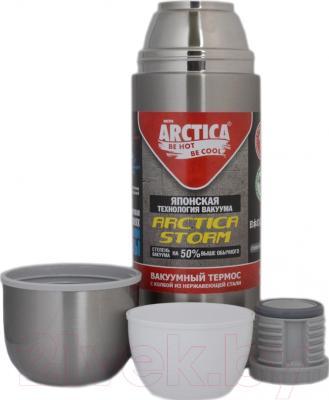 Термос для напитков Арктика 105-1000NA - дополнительная чашка