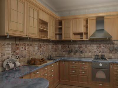 Декоративная плитка Сокол Бретань D-687 (330x330)