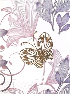 Декоративная плитка Сокол Вальс цветов D-680 (330x440)