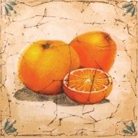 Декоративная плитка для кухни Сокол Гурман Апельсин D-493 (165x165) -