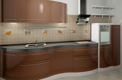Декоративная плитка Сокол Гурман Перец D-494 (165x165)