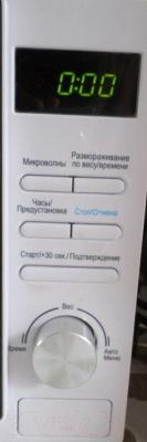 Микроволновая печь Midea AM720C4E-W - панель