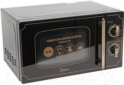 Микроволновая печь Midea MG820CJ7-B1 - вид спереди