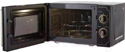 Микроволновая печь Midea MG820CJ7-B1 - с открытой дверцей 2