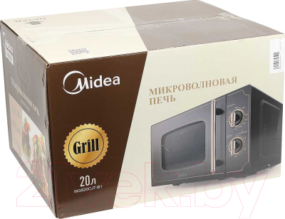 Микроволновая печь Midea MG820CJ7-B1 - коробка