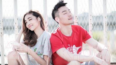 Наушники-гарнитура Xiaomi Piston Youth (белый)