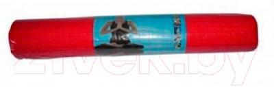 Коврик для йоги NoBrand L173 (красный)