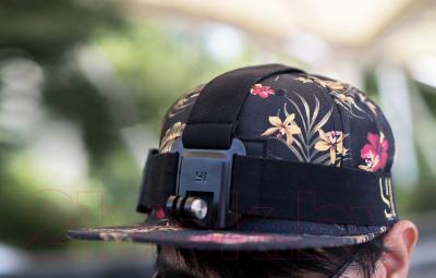Крепление для экшн-камеры Xiaomi 88103 - пример крепления (камера в комплект не входит)