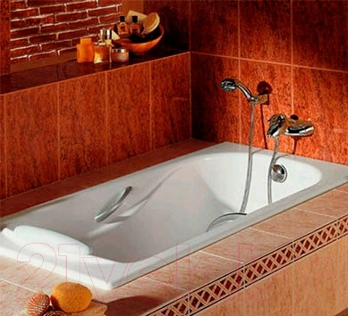 Ванна чугунная Roca Haiti 170x80 (с ножками)