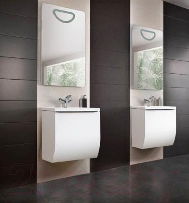 Зеркало для ванной Belux Аликанте В50 (белый) - в интерьере