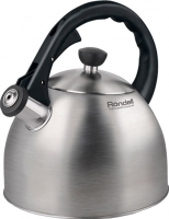 Чайник со свистком Rondell Perfect RDS-494 Steel -