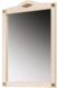 Зеркало для ванной Belux Верди В85 (слоновая кость/патина золото) -