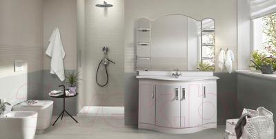 Зеркало для ванной Belux Орсе В140 (белый) - в интерьере