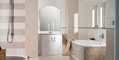 Зеркало для ванной Belux Орсе В80 (белый) - в интерьере