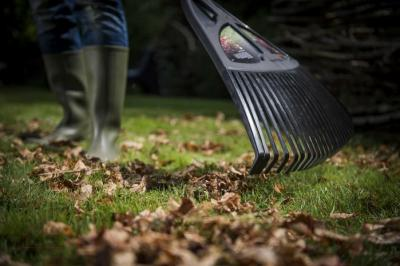 Грабли Fiskars Solid XL 135090 - для уборки листьев