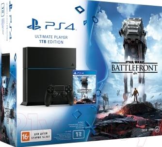 Игровая приставка Sony PlayStation 4 1Tb (PS719863847)