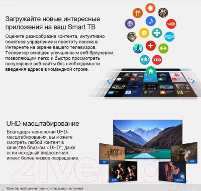 Телевизор Samsung UE65JU6800U