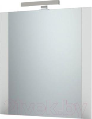 Зеркало для ванной Triton Ника 75 (белый)