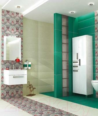 Зеркало для ванной Triton Ника 75 (белый) - в интерьере