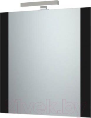 Зеркало для ванной Triton Ника 80 (черный)