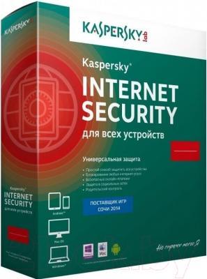 Антивирусное ПО Kaspersky Internet Security Multi-Device 2015 (KL1941OBEFS)