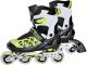 Роликовые коньки Sundays PW-153B-5 (XS, зеленый) -