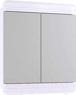 Шкаф с зеркалом для ванной Aqwella Корсика (Kor.04.07)