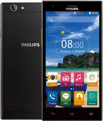 Смартфон Philips S616 (темно-серый)