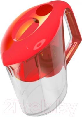 Фильтр питьевой воды Гейзер Вега (красный)