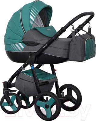 Детская универсальная коляска Riko Niki 2 в 1 (01/Malachite)